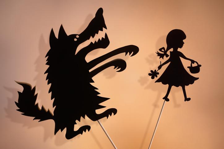 狼に豹変なんてことも(写真:iStock)