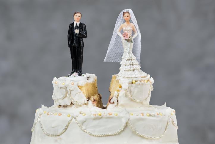 結婚より離婚のほうが大変(写真:iStock)