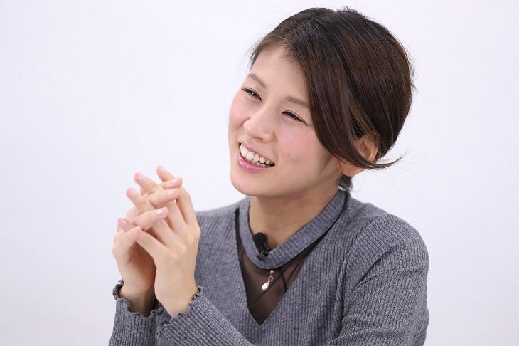 「子供が大好き」と小阪有花さん(C)コクハク