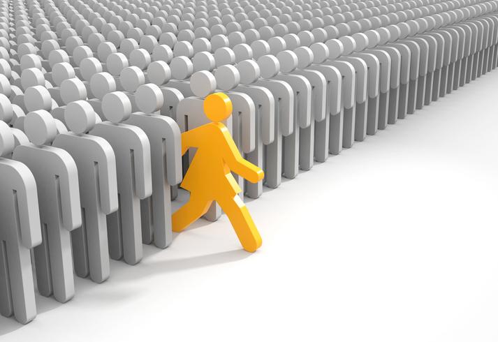 自分が大事にしたいことが何かわかったら一歩踏み出せるはず(写真:iStock)