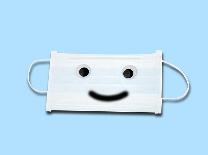 メイク崩れしないマスク選びと使い方は(写真:iStock)