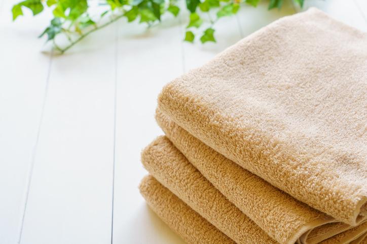 タオルで出来る簡単美容(写真:iStock)