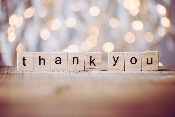 「ありがとう」の気持ちを忘れない(写真:iStock)
