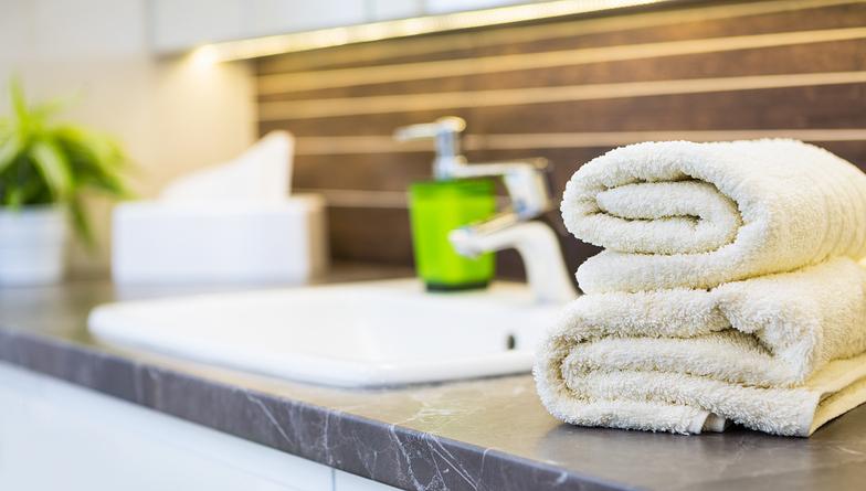 洗面所に高級ハンドソープが(写真:iStock)