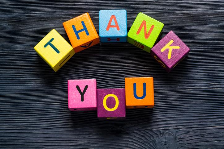 大切なのはお礼の気持ちをきちんと伝えること(写真:iStock)