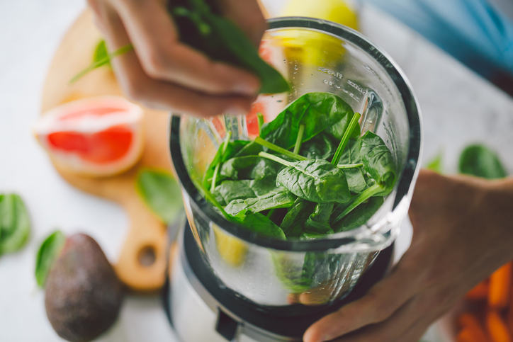 ジューサーにかけることで栄養価がアップ(写真:iStock)