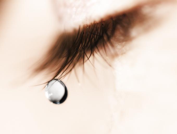 涙が出ちゃうときもある(写真:iStock)
