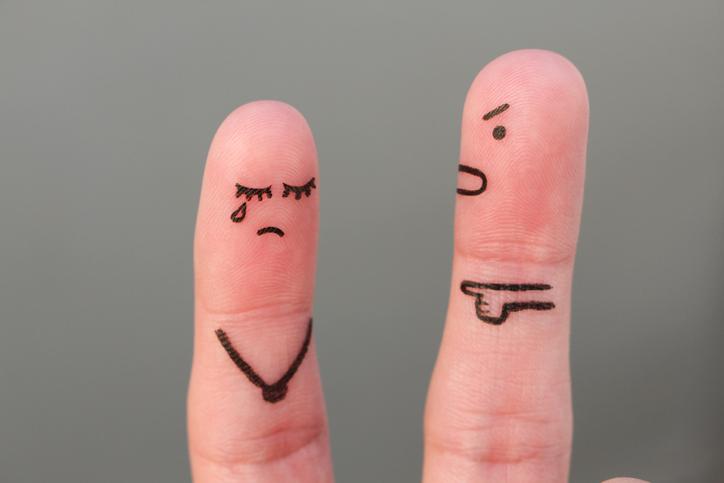 """意見を言うと""""暴言だ""""と反論される…(写真:iStock)"""