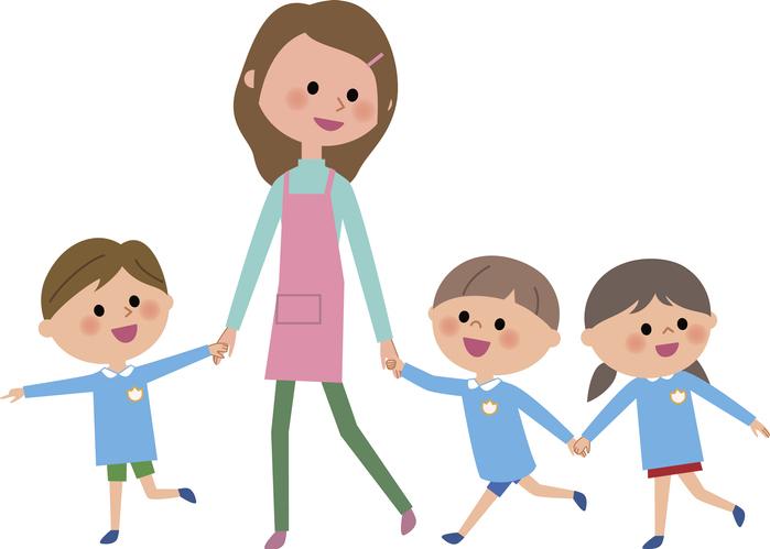 保育士さんは子供が大好き(写真:iStock)