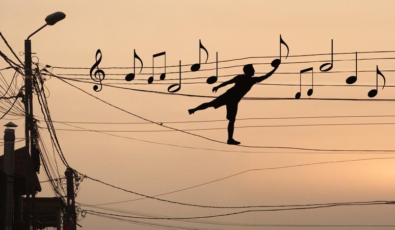 音楽が身近な存在に(写真:iStock)