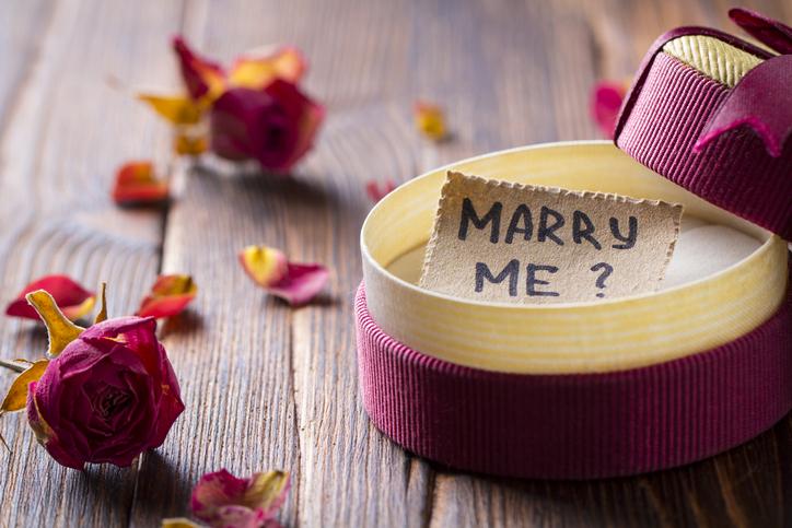 男性がプロポーズしたくなる女性って?(写真:iStock)