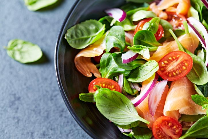 ヘルシーな食事がしなやかな体を作る(写真:iStock)