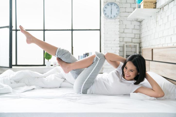 朝の筋トレで目醒めがよくなる(写真:iStock)