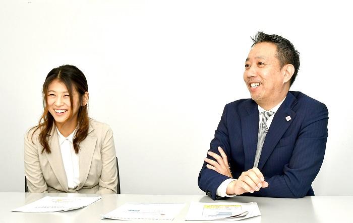 順天堂大学医学部附属浦安病院小児科の西﨑直人准教授と(C)コクハク