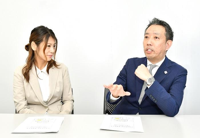 順天堂大学医学部附属浦安病院小児科の西﨑直人准教授と (C)コクハク