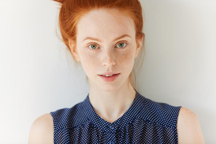 外国の女の子みたいで可愛い(写真:iStock)