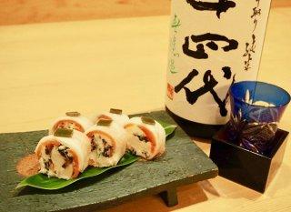 簡単だけど見た目は華やか「千枚漬け寿司」おもてなしにも