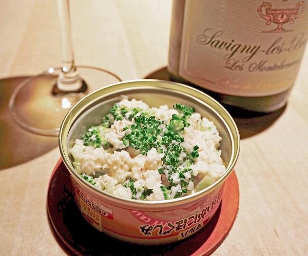 合うお酒=白ワイン(C)コクハク