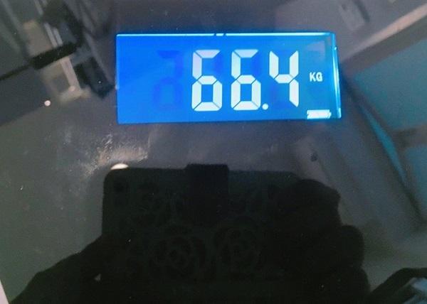 −2.3kgに成功!(写真:東城ゆず)