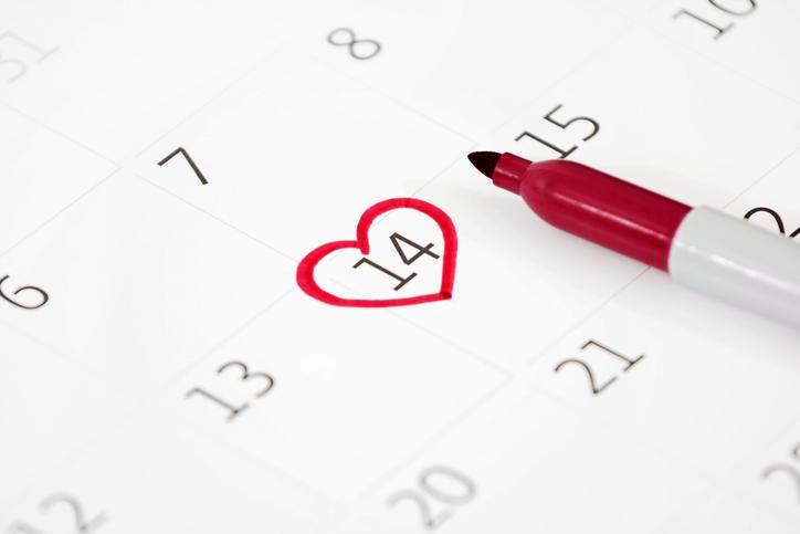 日にちを決めると楽しみが増える(写真:iStock)
