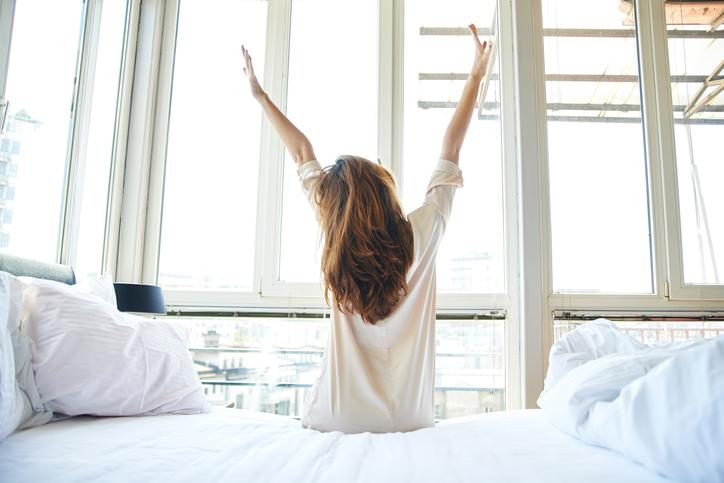 お泊まりする日は可愛くいたい♪(写真:iStock)