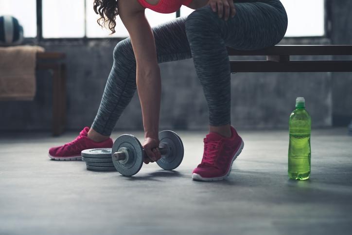 引き締まった体型はトレーニングの賜物(写真:iStock)