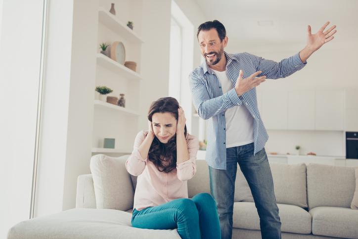 夫がイライラする理由は…(写真:iStock)
