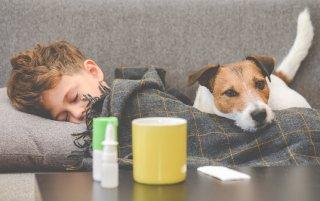 子どもの嘔吐処理の方法! 間違えると感染源が広がる恐れも