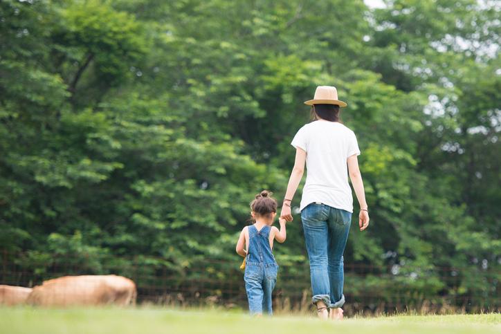 子供には母親が一番の存在(写真:iStock)