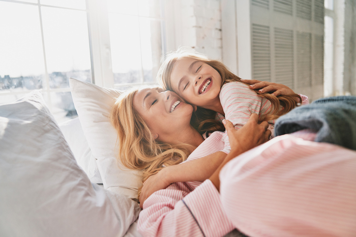 子どもを守るのは母親だけ(写真:iStock)