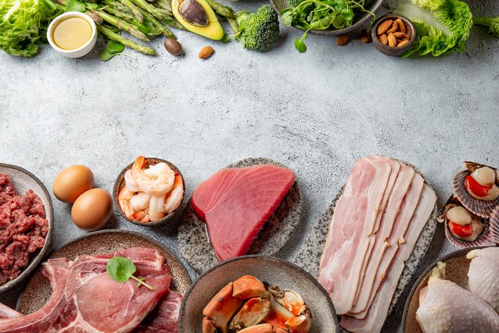 タンパク質は摂ってもOK(写真:iStock)