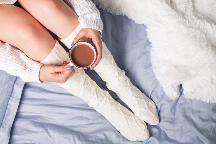普段から体を冷やさない生活習慣を(写真:iStock)