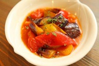 「トマトとナスのラタトゥイユ」作り置きすれば何かと便利