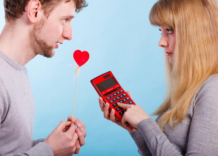 お金で愛は買えないというけれど……(写真:iStock)