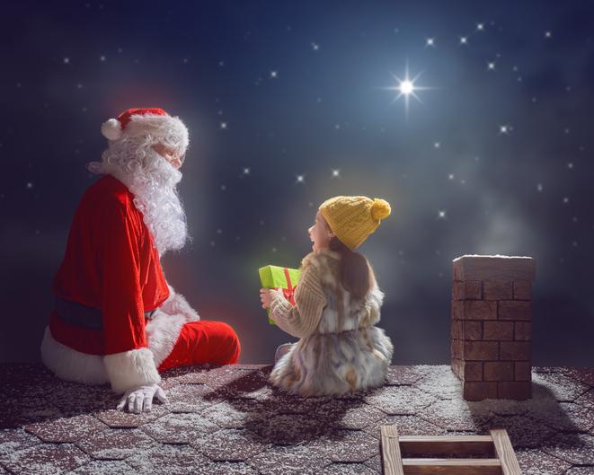 「サンタさん、ありがとう」