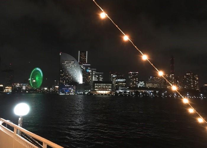 2019年3月の東京湾、マリンルージュクルーズの様子(写真:東城ゆず)