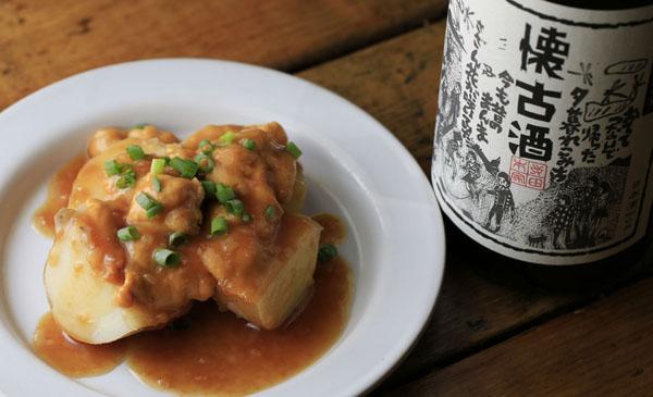 合う酒=日本酒の古酒(C)コクハク