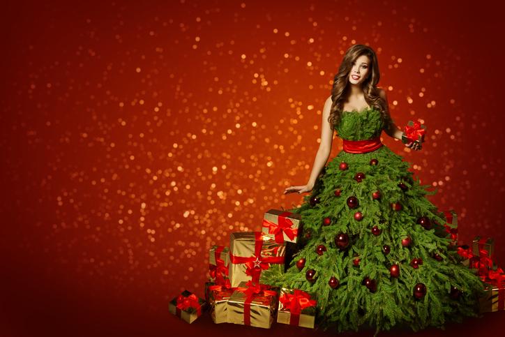 もうクリスマスツリーそのものでは?(写真:iStock)
