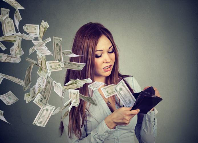 ただ無駄にお金を遣ったっていう…(写真:iStock)