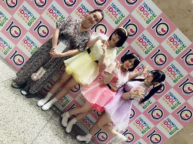 2019年8月マシュマロ3d+は東京アイドルフェスティバルに出演(提供写真)