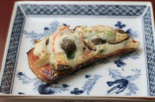 「サケの雪中焼き」濃厚なクリームチーズは和食にも合う!