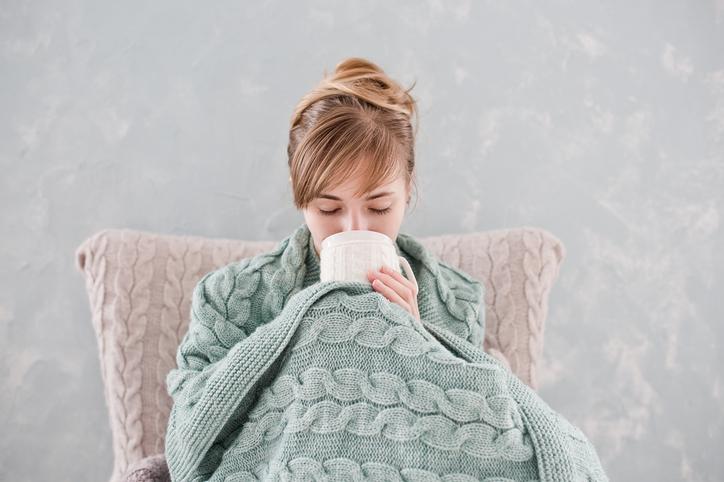 インフルエンザで気弱に(写真:iStock)