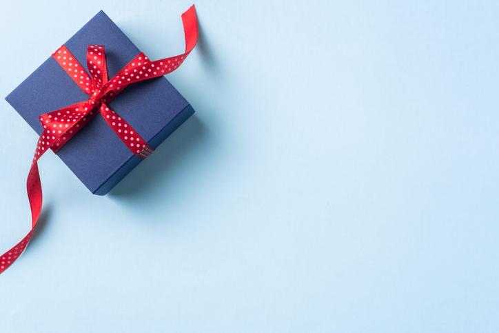 プレゼント目当てにしおらしく(写真:iStock)
