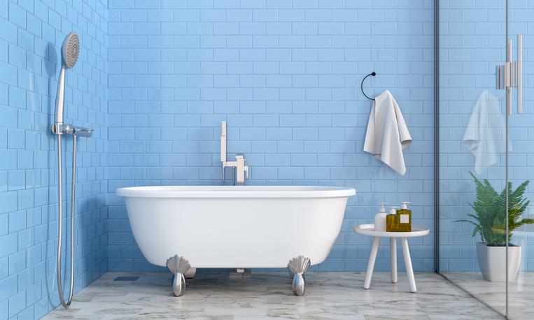 入浴時間も制限(写真:iStock)
