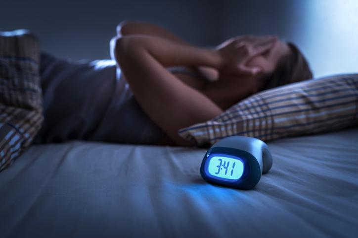 眠っていても呼吸が乱れる(写真:iStock)