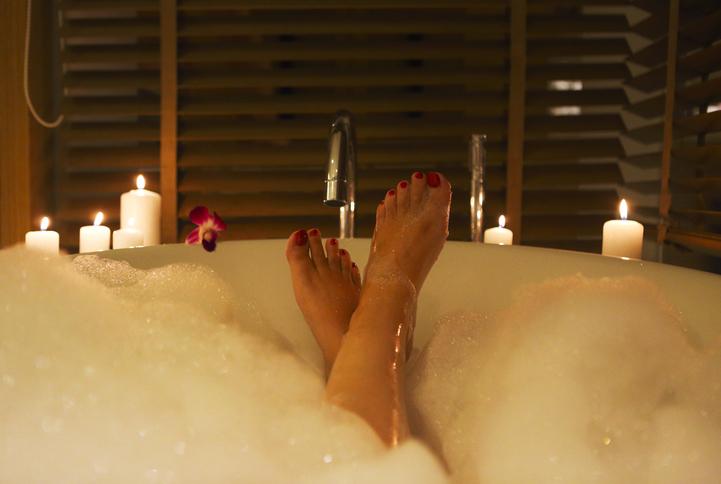 お風呂タイムを楽しもう♪(写真:iStock)