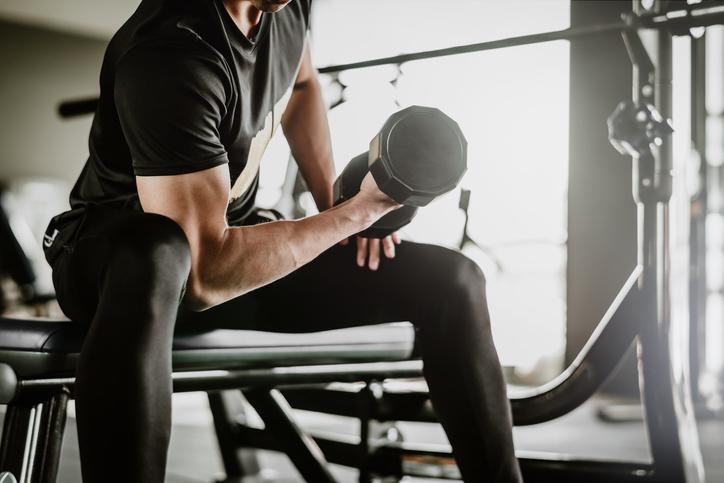こんな筋肉に抱きしめられてみたい(写真:iStock)