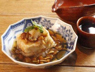 「江戸前揚げ出し豆腐」まさかの味付けに驚くこと間違いなし