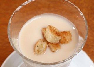「白インゲン豆の冷たいスープ」暑い日に食べたい冷たい前菜