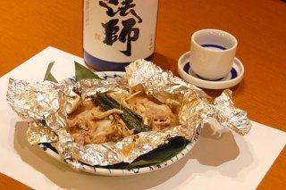 「イカゴロ(内蔵)豚のホイル焼き」合わせみそは万能調味料